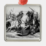 Richard III  at the Battle of Bosworth in 1485 Metal Ornament