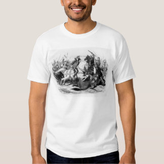 Richard III  at the Battle of Bosworth in 1485 T-shirts