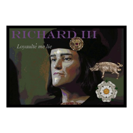 Richard III by an unknown painter Posters