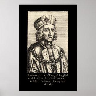 Richard III: Campeón de la búsqueda de n de la pie Posters