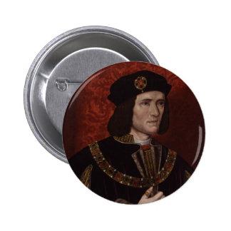 Richard III de Inglaterra Pin Redondo 5 Cm