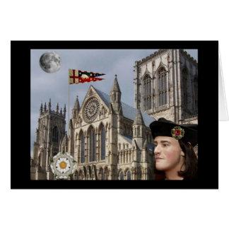 Richard III e iglesia de monasterio de York Tarjeta De Felicitación