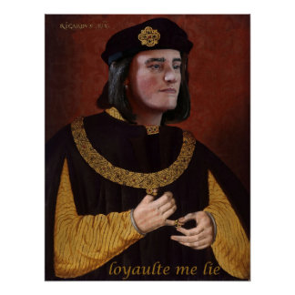 Richard III gets a new head (his own!) Poster