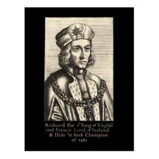 Richard III: Hide 'n Seek Champion Post Card
