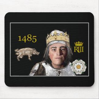 Richard III in armor Mouse Pad