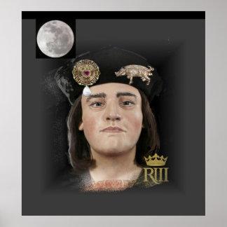 Richard III in moonlight Poster