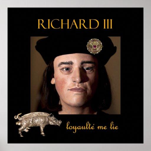 Richard III in the shadows Print