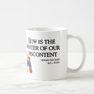 RIchard III - Now is the Winter of our Discontent Coffee Mug