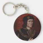 Richard III of England Basic Round Button Keychain