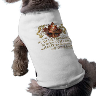 Richard III Quote (Gold Version) Pet Clothing
