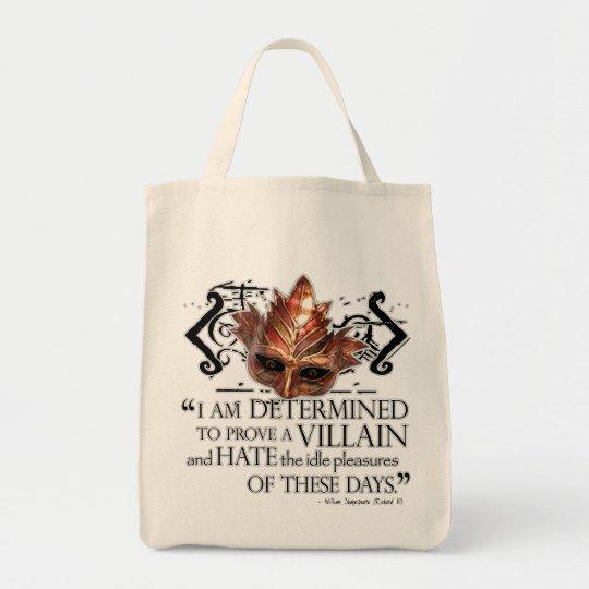 Richard III Quote Tote Bag
