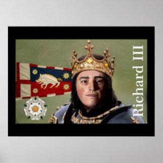 Richard III ready for battle Poster