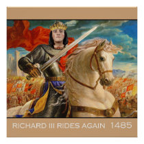 Richard III rides again! Poster