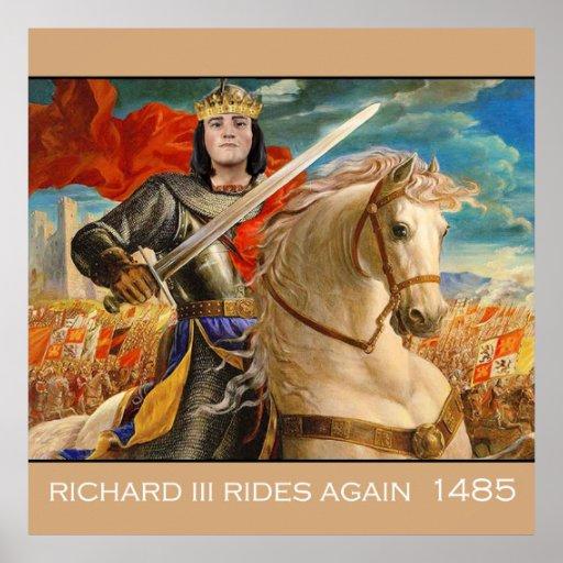 Richard III rides again! Posters