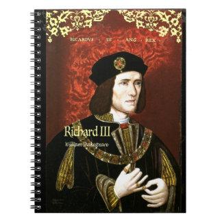 Richard III Spiral Notebook
