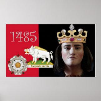 Richard III y su verraco blanco Póster