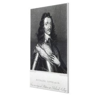 Richard Lovelace Canvas Print