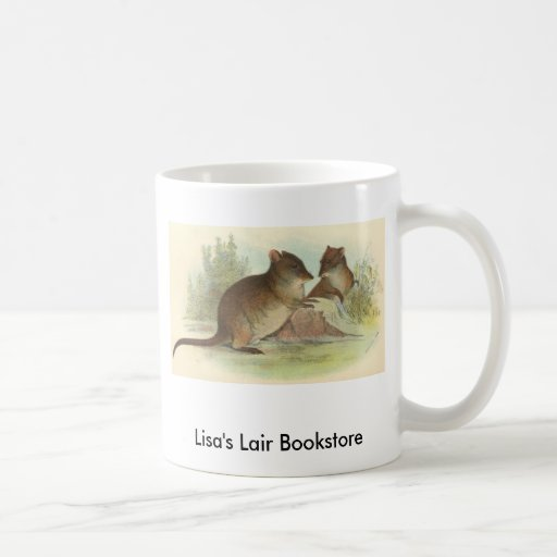 Richard Lydekker - Common Rat-Kangaroo Promo Coffee Mug