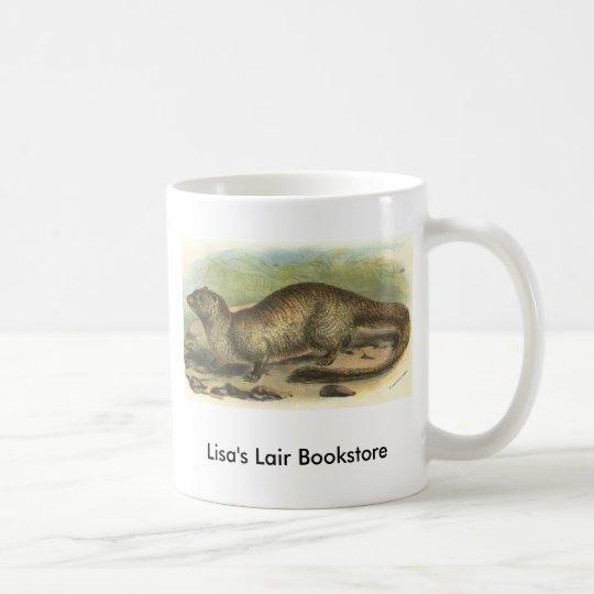 Richard Lydekker - Egyptian Mongoose Coffee Mug