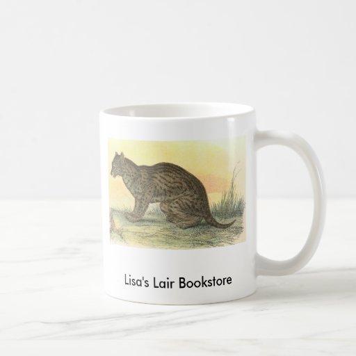 Richard Lydekker - Fishing Cat Bookstore Promo Coffee Mug