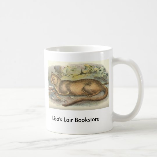 Richard Lydekker - Fossa Bookstore Promo Coffee Mug