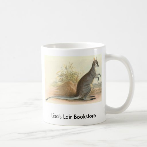 Richard Lydekker - Parry's Wallaby Bookstore Promo Coffee Mugs