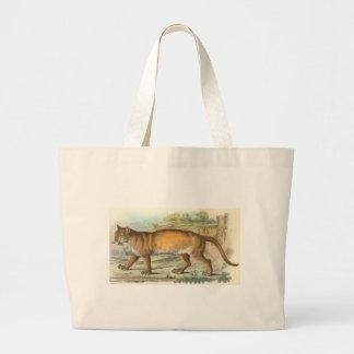 Richard Lydekker - Puma Large Tote Bag