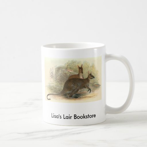 Richard Lydekker - Red-Necked Wallaby Promo Classic White Coffee Mug