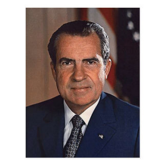 Richard M. Nixon 37 Postcard
