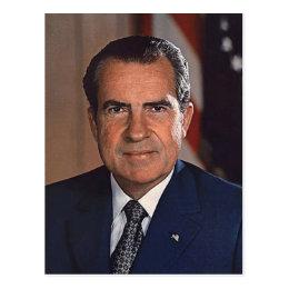 Richard M. Nixon Postcard