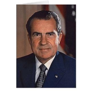 Richard M. Nixon Tarjeta De Felicitación