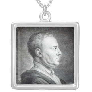 Richard Mead, 1739 Silver Plated Necklace