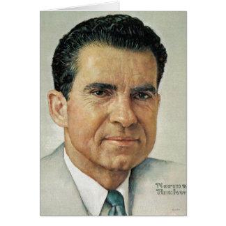 Richard Milhouse Nixon Card