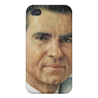 Richard Milhouse Nixon iPhone 4/4S Funda