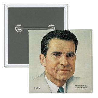 Richard Milhouse Nixon Pinback Button