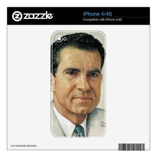 Richard Milhouse Nixon Skins For The iPhone 4S