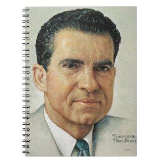 Richard Milhouse Nixon Spiral Notebook