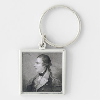 Richard Montgomery (1736-75) engraved by E. Macken Keychain