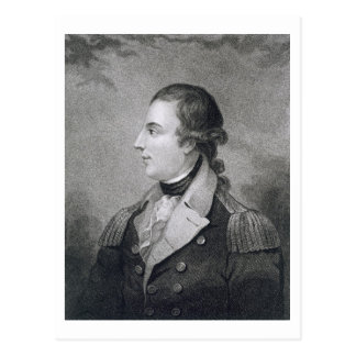Richard Montgomery (1736-75) engraved by E. Macken Postcard