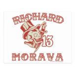 Richard Morava Tarjeta Postal