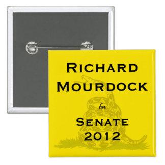 Richard Mourdock para el botón de la fiesta del té Pin