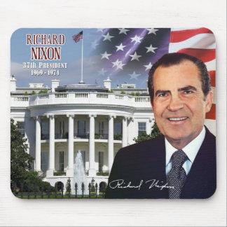 Richard Nixon - 37th President of the U S Mousepad