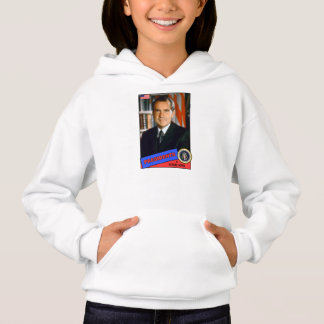 Richard Nixon Baseball Card Hoodie
