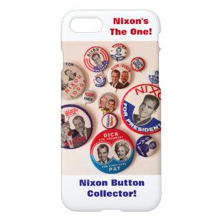 Richard Nixon Button Collector iPhone 7 Case