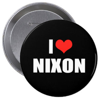 RICHARD NIXON Election Gear Button
