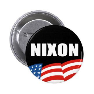 RICHARD NIXON Election Gear Pinback Button