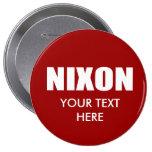 RICHARD NIXON Election Gear Pins