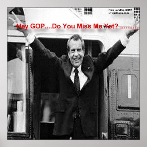 "Richard Nixon ""Miss Me Yet?"" Poster Posters"