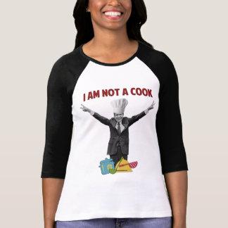 Richard Nixon no soy una camiseta del cocinero Playera