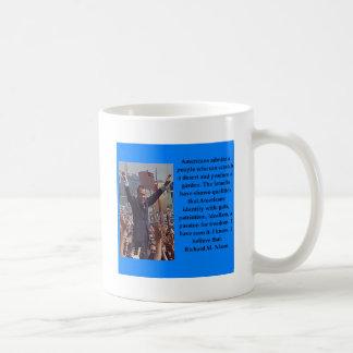 Richard Nixon quote Coffee Mug